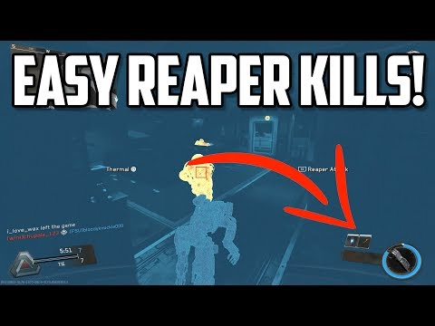 Easy Synaptic Reaper Challenge! (x4 kills in a single use)