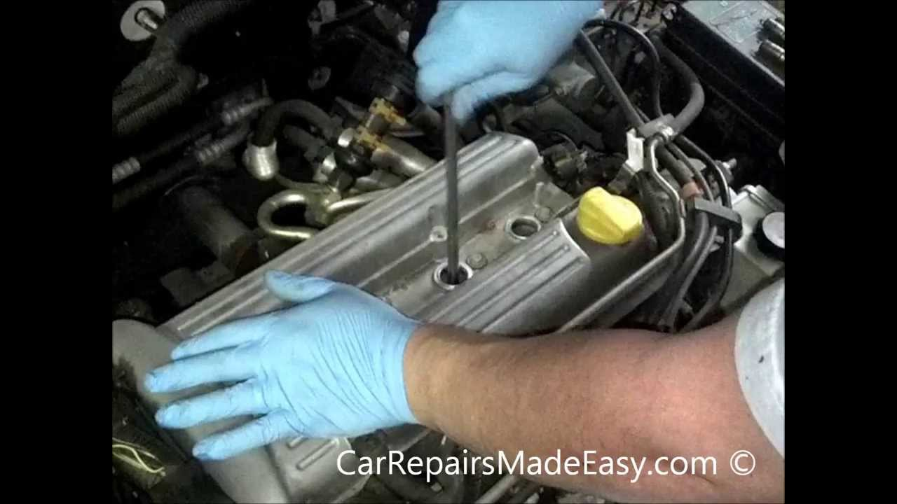 2004 Chevy Cavalier Engine Diagram Saturn 2 2l Spark Plug Replacement Youtube