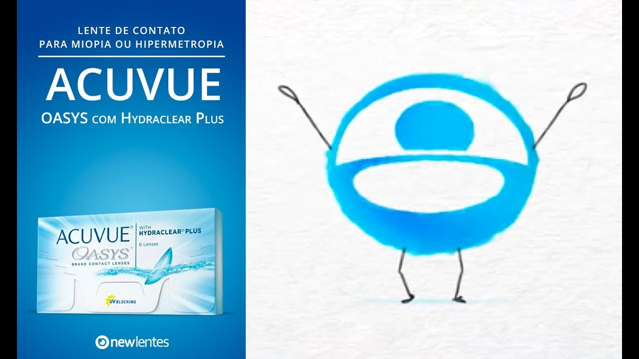 6cefffe8c Acuvue Oasys com Hydraclear Plus - YouTube