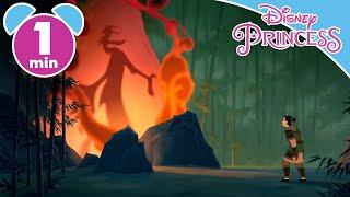 Mulan   Mulan Meets Mushu   Disney Princess #ADVERT