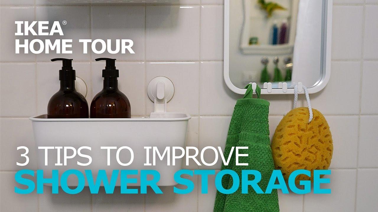 Shower Storage Ideas