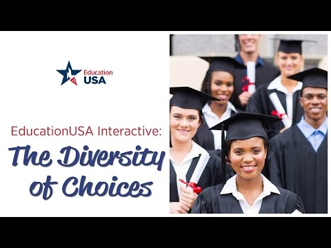 EducationUSA Interactive: Diversity of Choices