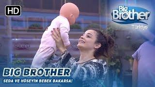 Big Brother Türkiye Seda ve Hüseyin Bebek Bakma Görevi!