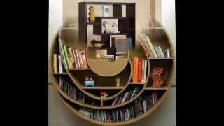 Modern Contemporary Bookcase Design Ideas