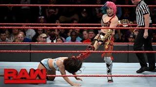 Asuka Vs. Stacie Cullen: Raw, Oct. 30, 2017
