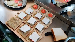 Most Loaded Paneer Bread Pakoda   40 Grams Paneer   Indian Street Food