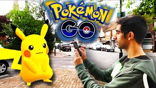 POKEMON IN REAL LIFE! - POKEMON GO LETS PLAY EPISODE 1