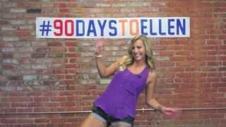 90DaysToEllen - Sarah Audition Thumbnail