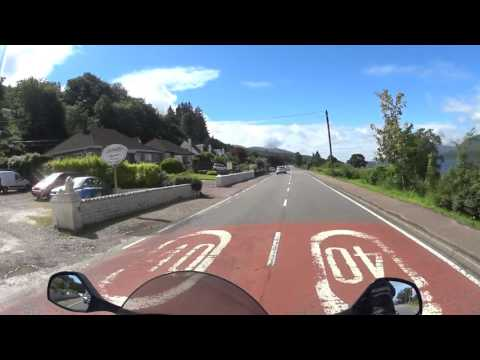 43 Scottish Highlands Motorcycle Trip - Fort William (A82) to Glencoe (A82)
