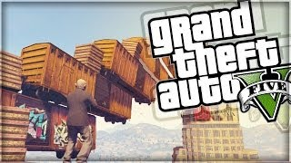 GTA 5 Funny Moments | Glitched Prop Deathmatch  (GTA V Online)