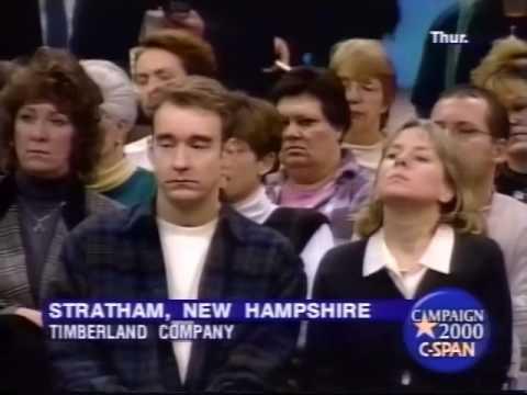Bill Bradley Campaign Speech 2000