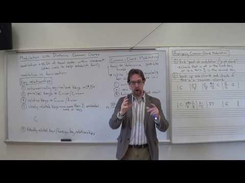 Dr. B Music Theory Lesson 40 (Modulation 101)