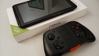 """Barnes and Noble NOOK Tablet 7"""" (2018) Gaming Test"""