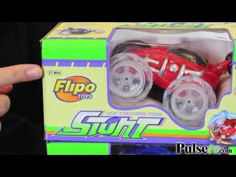 RC Stunt Car With LED Light FX By Flipo