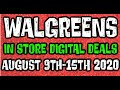 Walgreens Digital Coupons In Store Breakdowns August 9th-15th 2020