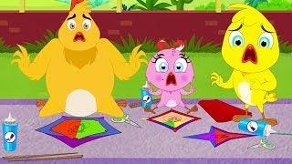 Eena Meena Deeka | Kite Fight | Funny Cartoon Compilation | Cartoons for Children