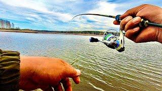 Спиннинг с берега Ловля на ультралайт Рыбалка 2021