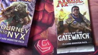 Magic The Gathering - 3 x Modern Masters 2017 + 3 Booster Walmart pack Openings