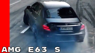 2018 Mercedes AMG E 63 S 4MATIC Commercial Trailer