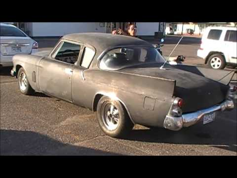 Taking my Rat Rod 1959 Studebaker Hawk for a ride around town