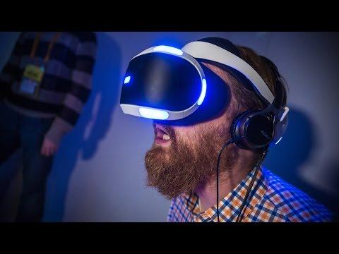 Hands-On: Sony's New 'Project Morpheus' Prototype VR Headset + Demo