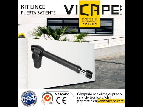 Instalar motor para puertas abatibles - Motorline LINCE