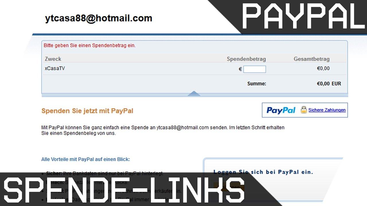 Paypal Erstellen
