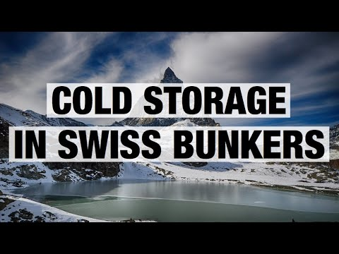 Cold Storage In Swiss Bunkers
