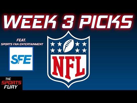 NFL Week 3 Picks Feat. Sports Fan Entertainment