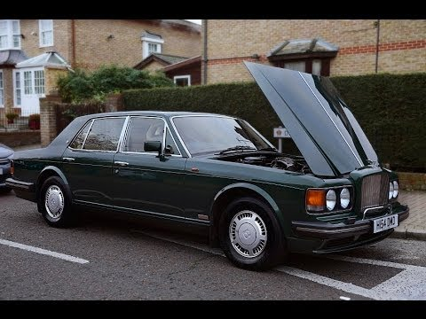 1991 bently turbo r