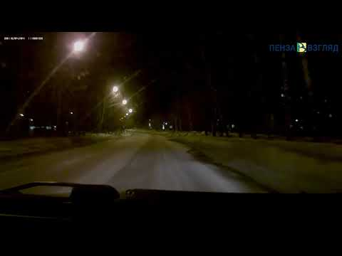 Авария на улице Глазунова в Пензе