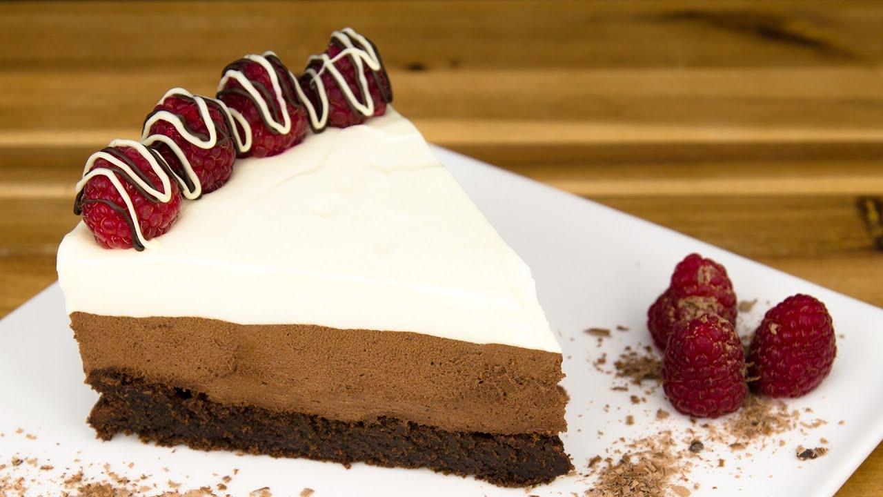 Frozen mousse cake recipe