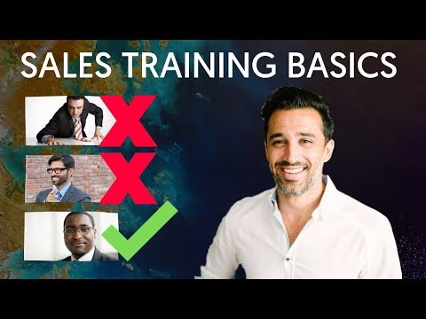 11 Sales Training Basics Beginners MUST Master