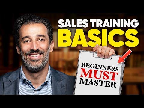 11 Sales Training Basics Beginners MUST Master
