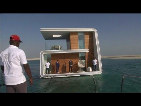 Dubai Showcases Floating 'Seahorse' Homes