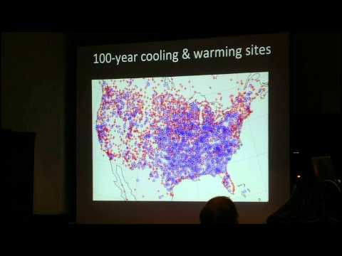 "Richard Muller (UC Berkeley): ""The Berkeley Earth Surface Temperature Land Results"""