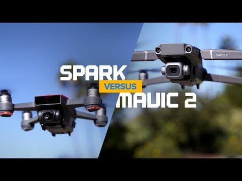 DJI Spark Vs Mavic 2 Pro - Can You Tell The Difference?