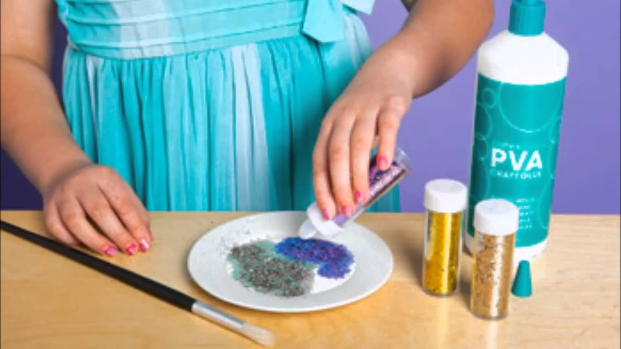 How to make Glitter PurseYouTube