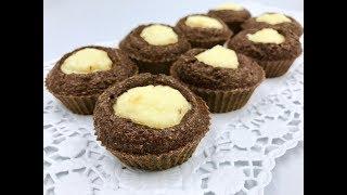 Пп кексы «Ватрушки» |  Диетические маффины с творогом  | Шоколадно-творожные кексы