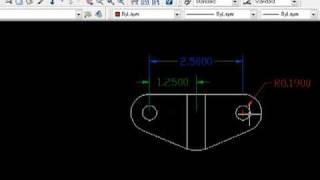 Autocad simple piece