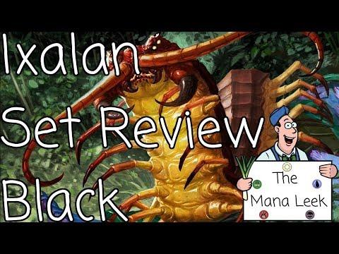 Ixalan Black Limited Set Review - The Mana Leek