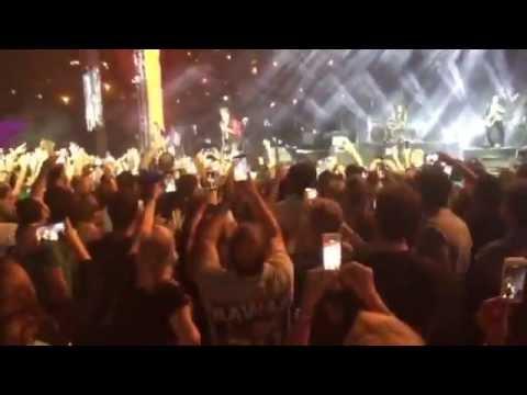 The legendary icon Johnny Hallyday at Jounieh International Festival 2015