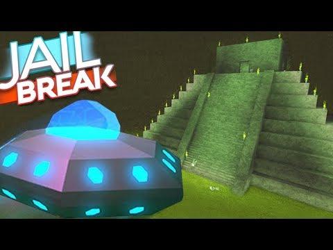 ROBLOX JAILBREAK NEW ALIEN INVASION! (UFO, NEW MAP, ALIENS)