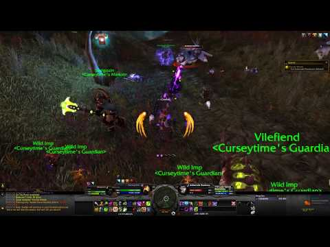 World of Warcraft - War of the Thorns Pre-Expansion Event /w Demonology Warlock