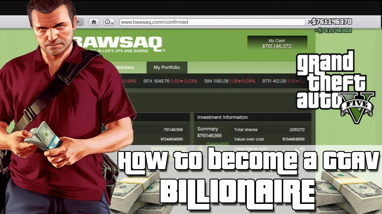 Gta 5 Ps4 Next Gen How To Become A Billionaire 20161012
