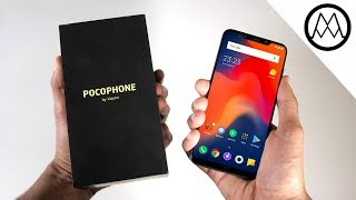 Xiaomi Pocophone F1 Special Edition UNBOXING and REVIEW