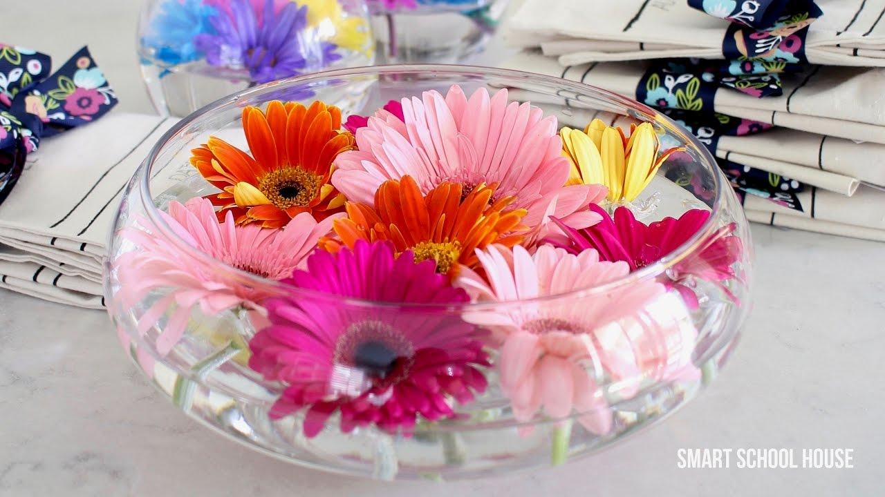 Bubble Wrap Floating Flower Bouquet Youtube