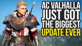 New Areas, Gear, Skills & Way More In Biggest Assassin's Creed Valhalla Update (AC Valhalla Update)