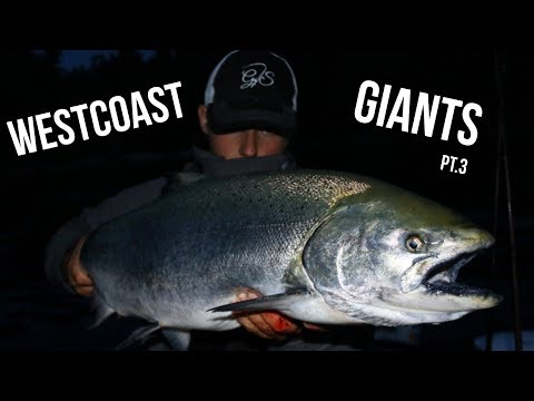 TROLLING For BIG Chinook Salmon On The West Coast Of Vancouver Island Is