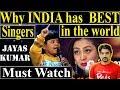 Why India Has Best Singers ?   Jayas Kumar Channa merya last song   Must Watch